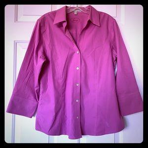 Pink Foxcroft Blouse